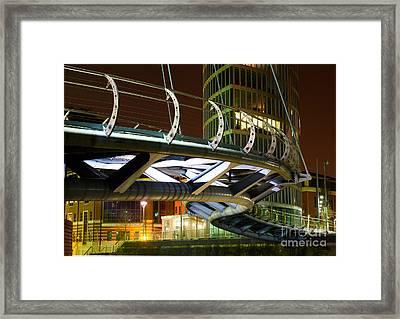 Valentines Bridge, Bristol Framed Print
