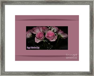 Valentine's Day Framed Print by Kathleen Struckle