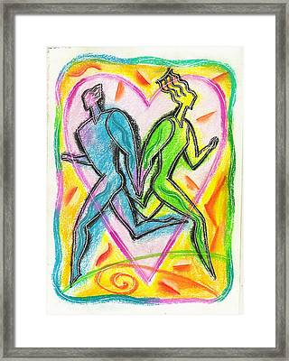 Valentines Day Framed Print by Leon Zernitsky