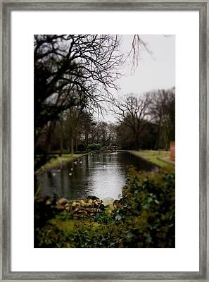 Valentines Park Framed Print by Perggals - Stacey Turner