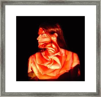 Valerie Framed Print by Arla Patch