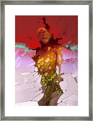 Framed Print featuring the photograph Valhalla Rising by Richard Wiggins