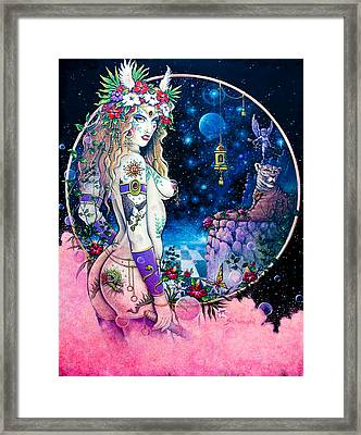 Valkyrie Framed Print by Keith Stillwagon
