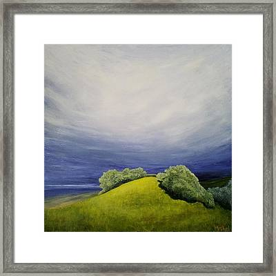 Valle Vista Meadow Framed Print
