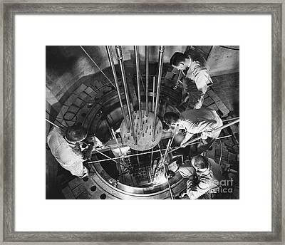 Vallecitos Nuclear Center, C. 1960 Framed Print by News Bureau, General Electric Company