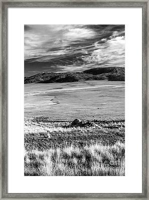 Valles Caldera  Framed Print