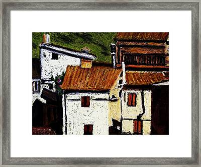 Valles Di San Martino Framed Print by Tom Herrin
