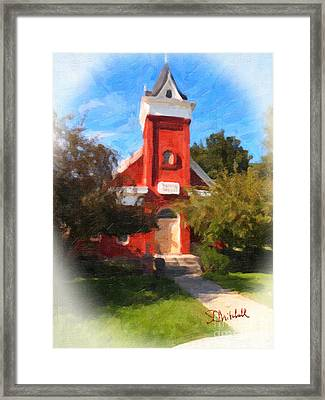 Valley Chapel Framed Print