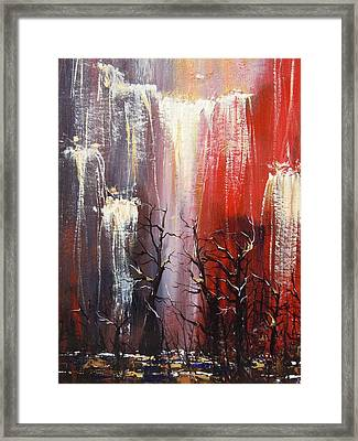 Valley Deep Framed Print