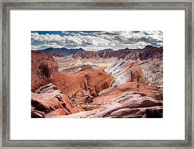 Valley Of Fire Expanse Framed Print