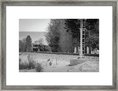 Valley Express Framed Print by Darren Walker