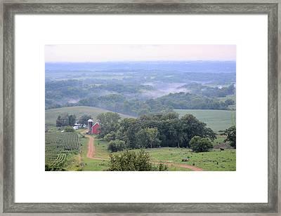 Valley Farm Framed Print