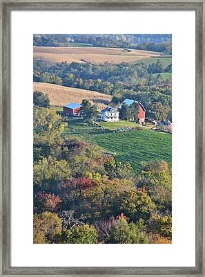 Valley Farm Portrait 2 Framed Print