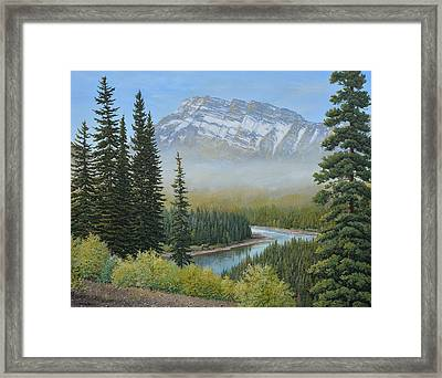 Valley Floor Framed Print