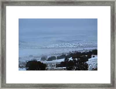 Valley Fog Framed Print by Curtis Willis