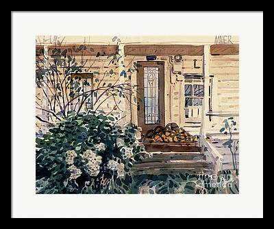 Sonoma County Paintings Framed Prints