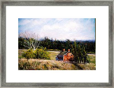 Valley Forge Spring Framed Print by Joyce A Guariglia