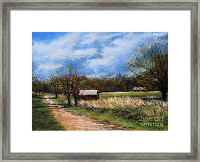 Valley Forge Summer Framed Print by Joyce A Guariglia
