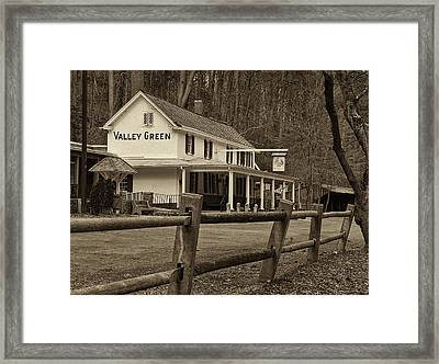 Valley Green Framed Print by Jack Paolini