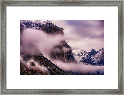 Valley Mood, Yosemite Framed Print by Vincent James