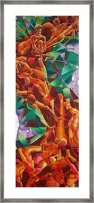 Valley Of Abstraction Framed Print by Ken Meyer