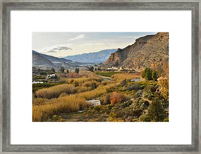 Valley Of Andalusia Framed Print