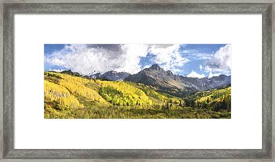 Valley Of Autumn II Framed Print