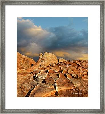 Valley Of Fire Morning Light Framed Print by Bob Christopher