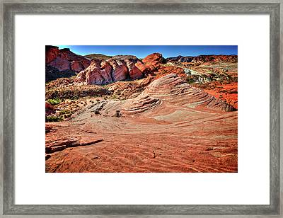 Valley Of Fire State Park Nevada Framed Print by James Hammond
