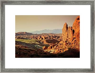 Valley Of Fire Xxiii Framed Print