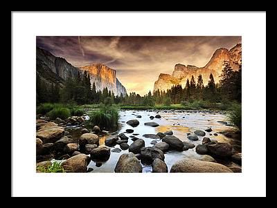Nature Scene Framed Prints