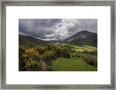 Valley Of Nant Gwynant Framed Print