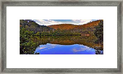 Valley Of Peace Framed Print