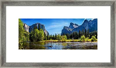 Tranquil Valley Framed Print