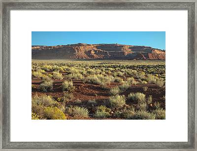 Valley Of The Gods Framed Print by Joseph Smith