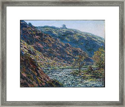 Valley Of The Petite Creuse Framed Print by MotionAge Designs