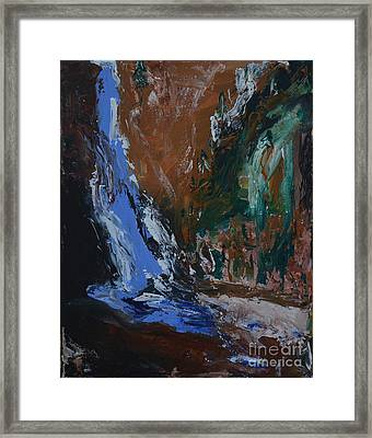 Valley Of The Pines  Framed Print by Lisa  Telquist