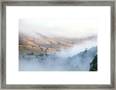 Valley Of Whispers Framed Print by Az Jackson