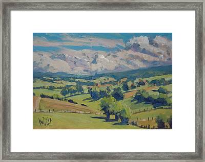 Valley Schweiberg Framed Print