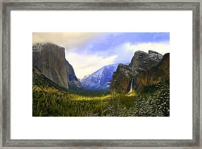 Valley Sunset Framed Print by Bill Keiran