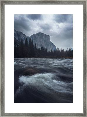 Valley View Framed Print by Gray Mitchell
