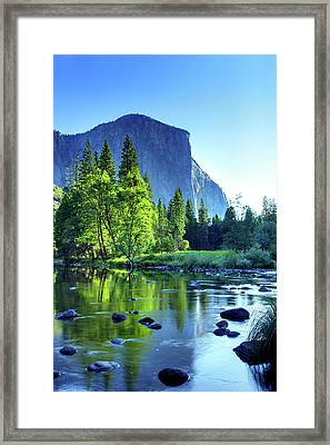 Valley View Morning Framed Print