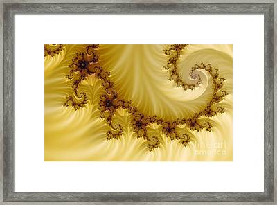 Valleys Framed Print