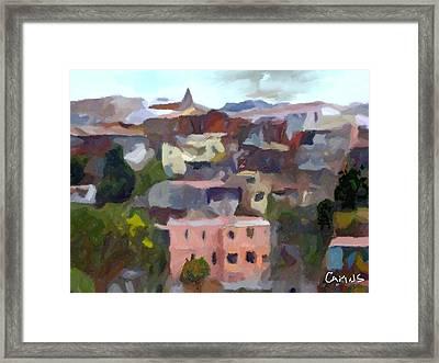 Valparaiso - Chile Framed Print by Carlos Camus