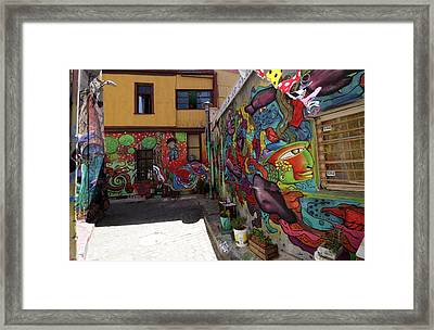Valparaiso Street Art 02 Framed Print