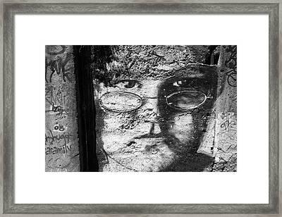 Spanish Eyes Framed Print