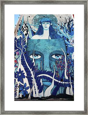 On The Mind Of Another Framed Print