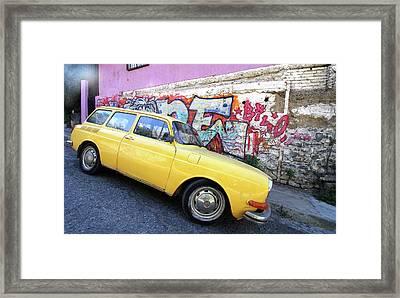 Street Hornet  Framed Print