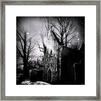 Vampiric Tendencies Framed Print