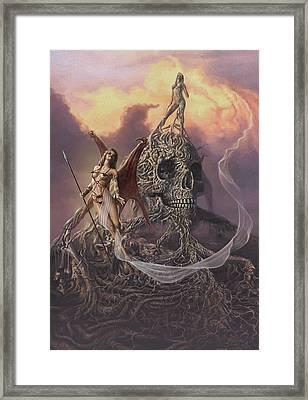 Vampis Lair Framed Print